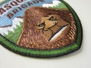 Sasquatch Brigade embroidered patch