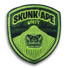 Load image into Gallery viewer, Skunk Ape Unit embroidered patch by Monsterologist