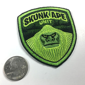 Skunk Ape Unit embroidered patch