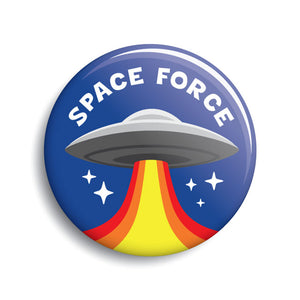 Space Force UFO button