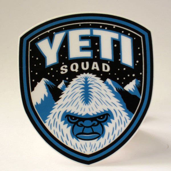 Yeti Squad Shield Park Ranger Sticker