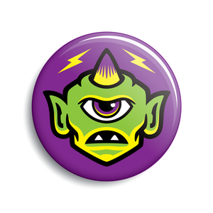 Monsterologist Cyclops button (legacy)