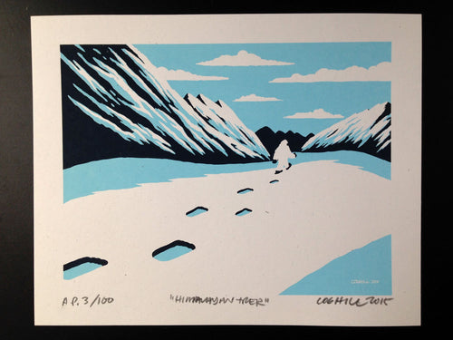 Yeti Screen Print Limited-Edition