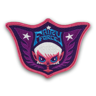 Cute fairy military pastel patch by Monsterologist