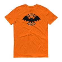 Hallows Angels vampire bat  Halloween biker short-sleeve t-shirt