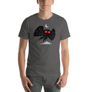 Mothman Moon Short-Sleeve T-Shirt