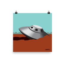 Load image into Gallery viewer, Roswell UFO Crash print