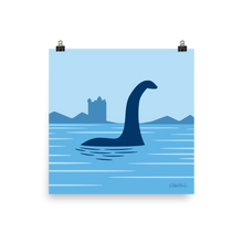 Load image into Gallery viewer, Loch Ness Monster print