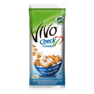 Cereal Vivo Check 3 Cereales 30grs