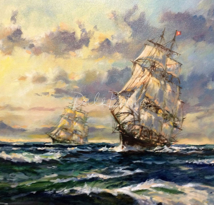 marine_art_by_dale_encounter_at_the_horn
