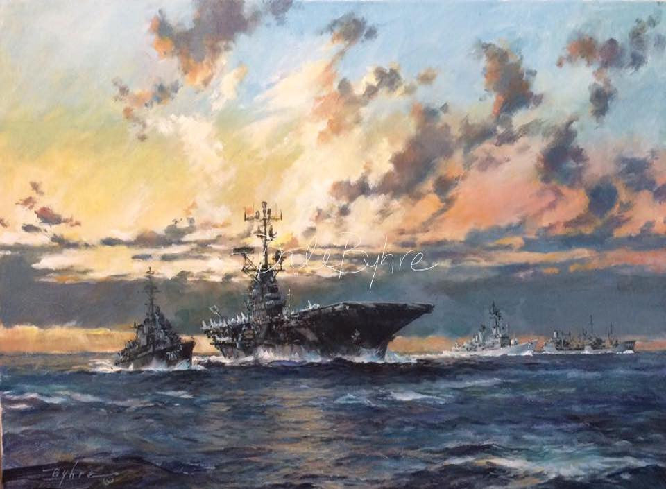 morning_yankee_station_marine_art_dale_byhre