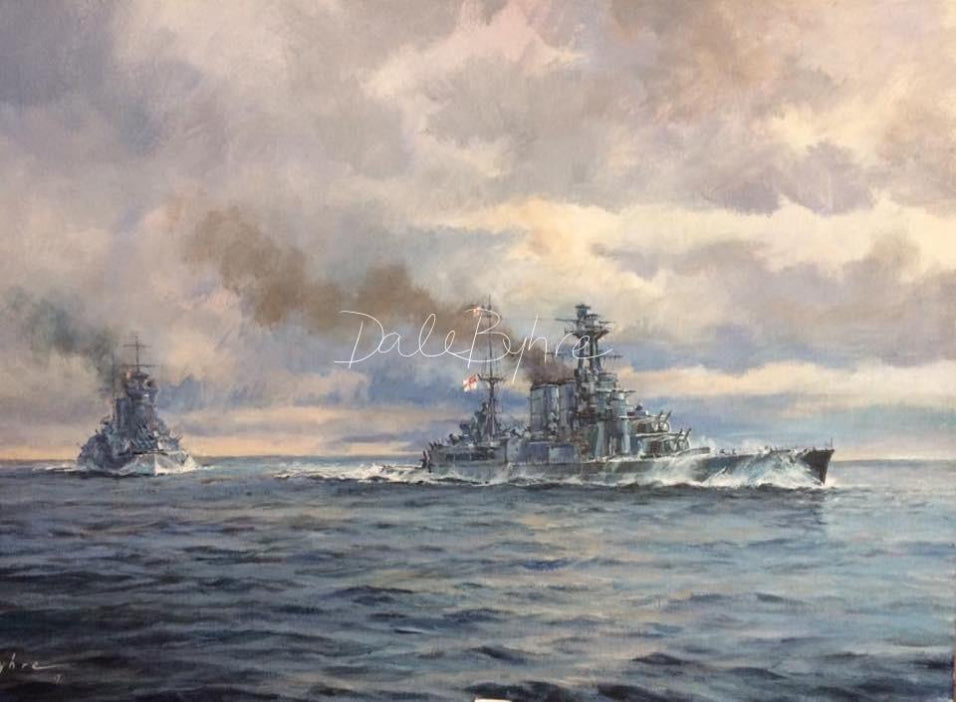 to_glory_we_steer_marine_art_dale_byhre