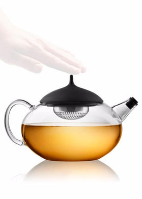 Glass Teapot w/ Stainless Tea Egg