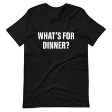 What's For Dinner Cool Dad T-Shirt black