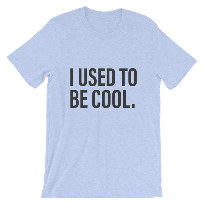 I Used To Be Cool  Dad  Blue T-Shirt - House of Dad