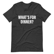 What's For Dinner Cool Dad T-Shirt dark gray