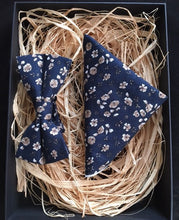 Tie and Pocket Square 'Ocean Blue' Duo Set Blue