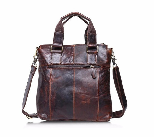 Xiniu Man Handbag Genuine Leather Vintage Buffalo Messenger Bags Satchel Laptop Briefcase Men's Bag #XTJ