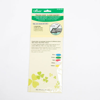 "Clover Tracing Paper ""Clover Chacopy"""