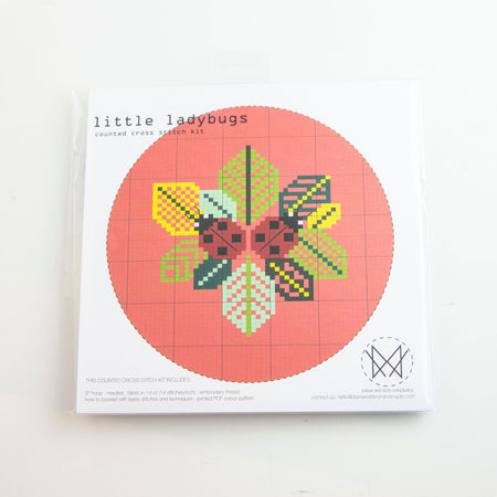 Little Ladybugs - Cross stitch kit
