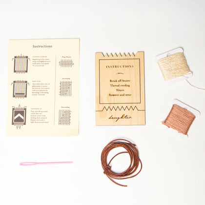 Woven Necklace Kit