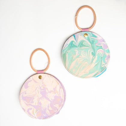 Glad and Young Round Marbled Bag