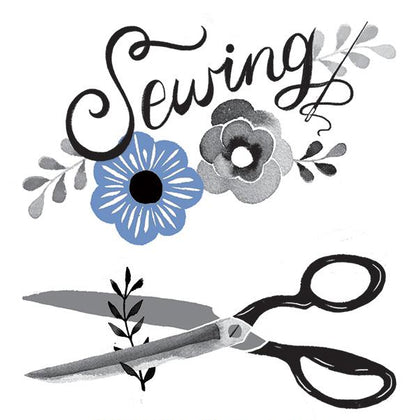 """Sewing Love"" Temporary Tattoos"