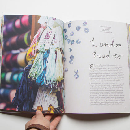 London Stitch and Knit, A Guide To London's Fabric, Knitting and Haberdashery Shops