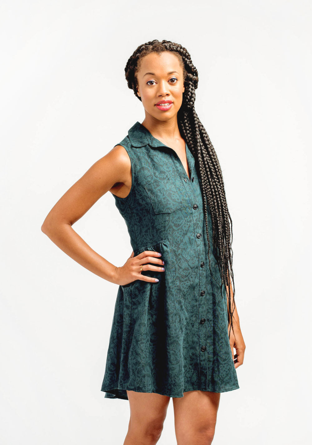 Alder Shirtdress Pattern