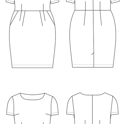 Rivermont Dress and Top Pattern