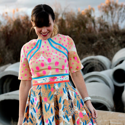 Sew Happy Color - Paint Your Clothes - with Katie Kortman