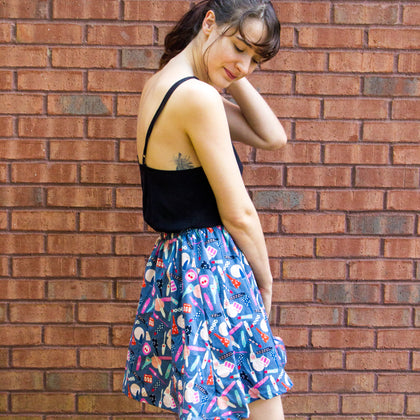 Intro to Sewing - Elastic Waist Skirt