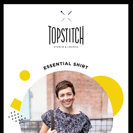 Topstitch Essential Shirt Pattern - PDF