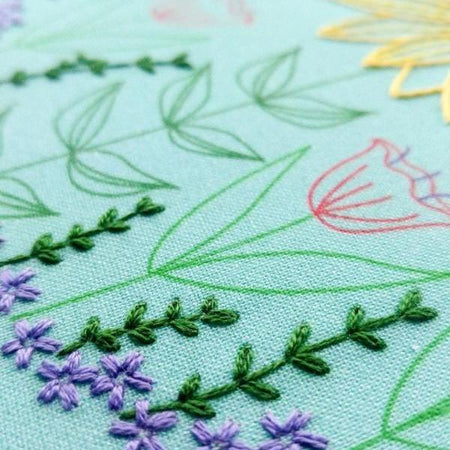 Hand Embroidery 101