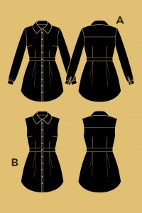 Bruyere Shirt Pattern