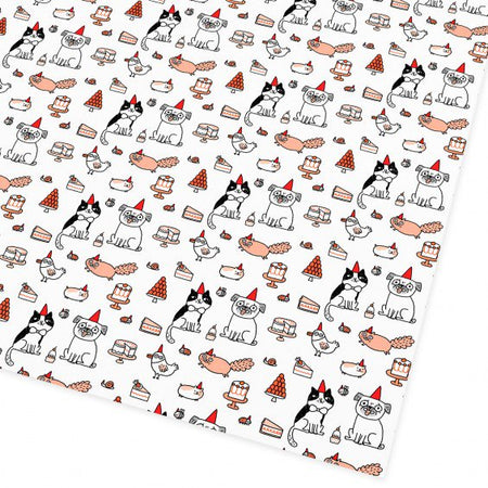 Party Time Wrapping Paper