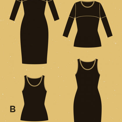 Givre Dress and T-Shirt Pattern