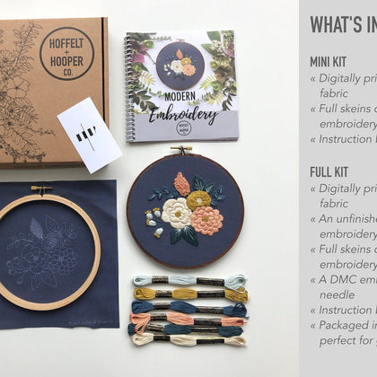 Hannah Rose Emboridery Kit