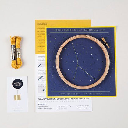 Zodiac Embroidery Kits