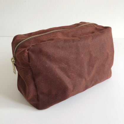 Intro to Sewing -  Dopp Kit / Toiletries Bag