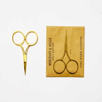 Fine Gold Work Scissors