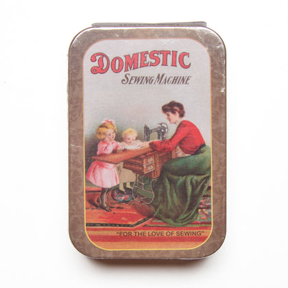 Vintage Sewing Tin