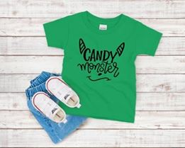 Candy Monster Youth Print