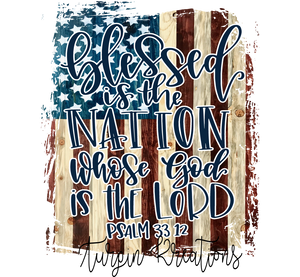 Blessed is the Nation Transfer