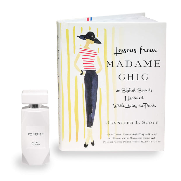 Secret Genius 50mL + Novel, Lessons from Madame Chic