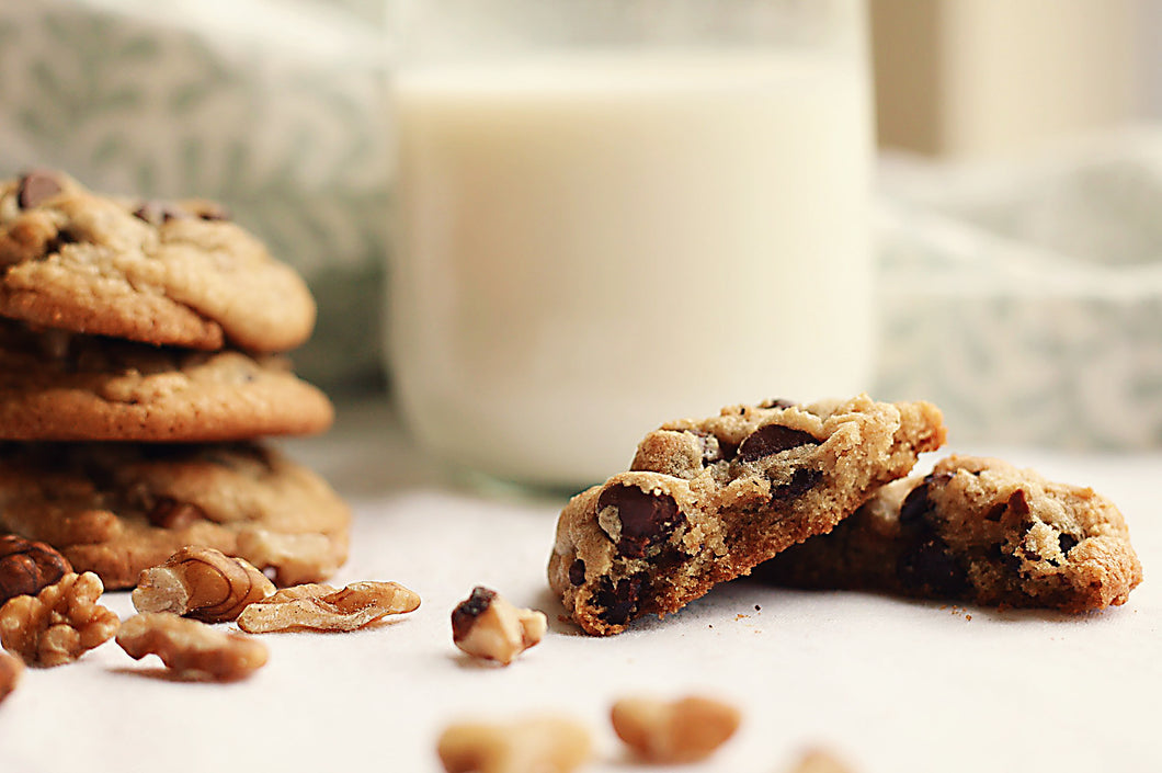Chocolate Chip Walnut Cookies (one dozen)