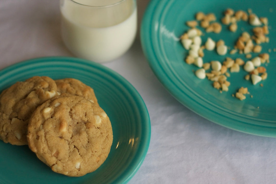 White Chocolate Macadamia Nut Cookies (one dozen)