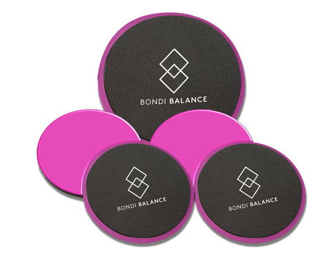 3 SET OF CORE SLIDERS FOR THE PILATES STUDIO