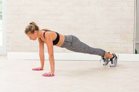 Exercise Sliders Start Position