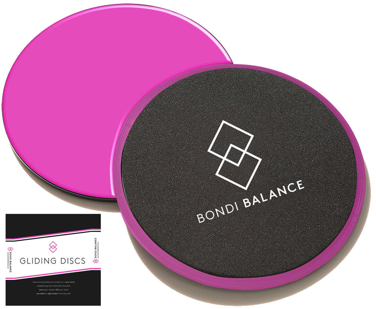 BONDI BALANCE GLIDING DISCS - HOT PINK- SHOP NOW